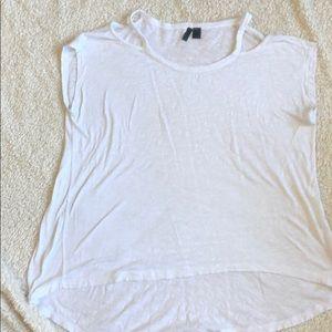 Women's Cotton Cold Shoulder Tee
